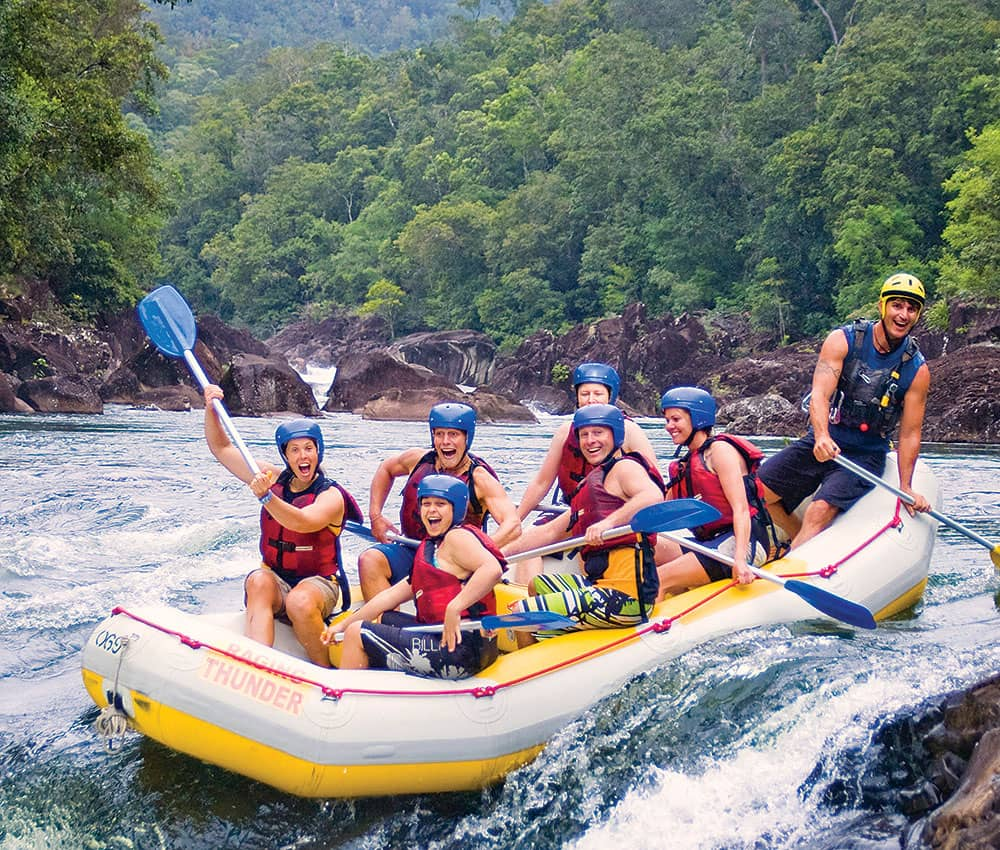 Tully River Rafting Tours